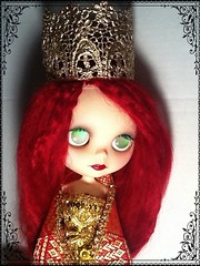 Blythe-a-Day July#28:Folktales&Legends: Rhiannon-Narcissa Rose as Guinevere