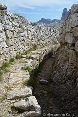 Trincee sul Monte Piana