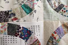Two rows of rings sewn up! (_name_taken_) Tags: libertyoflondon denyseschmidt singlegirlquilt lowvolumefabric