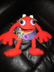 Cheryl Baker (The Crochet Crowd®) Tags: mike toy mikey cal amigurumi redheart monstersinc crochetalong crochetpattern staceytrock freecrochetpattern thecrochetcrowd michaelsellick mysterycrochetchallenge whosinyourcloset monstersuniversitycrochetpattern