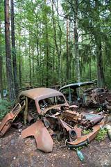 The Kyrk mosse junk yard 4/12 (Ole Houen) Tags: old car yard canon vintage eos junk sweden iii 5d wreck mk mosse ef24105mmf4lisusm kyrk olehouen