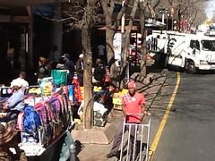 Street market, JoBurg