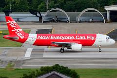 9M-AHF // AirAsia // Airbus A320-216 (Na Maew Spotter) Tags: ak chiangmai cnx airasia vtcc 9mahf