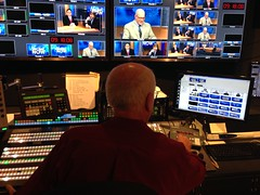 Goodbye Dave! (New York NOW) Tags: dave studio tv control room monitors director pbs povero wmht