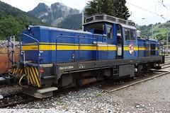 MOB Diesellocomotive type Gm 4/4 N 2004. (Franky De Witte - Ferroequinologist) Tags: de eisenbahn railway estrada chemin fer spoorwegen ferrocarril ferro ferrovia