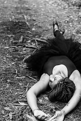 Ballerina (sunnyfleur) Tags: ballet white black pose lens 50mm nikon ballerina down nikkor tutu laying d7100