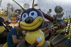 The Bumblebee Ride (Kim Yokota) Tags: toronto ontario canada cne bumblebee rides midway canadiannationalexhibition 2014 nikond7000 nikonafsnikkor2470mmf28gifed