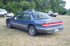 1993 Chrysler Concorde (DVS1mn) Tags: new london car brighton antique run era brass brassera newlondontonewbrighton nlnb nlnbacr 28thannualnewlondontonewbrightonantiquecarrun 945gjm