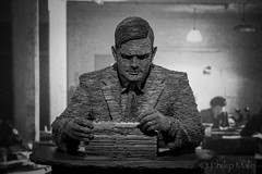.Enigma. (Grandpops Woodlice) Tags: enigma alanturing turing bletchleypark bletchley