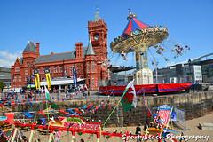 Cardiff Bay beach (jonnywalker) Tags: festival southwales wales coast cardiff cardiffbay cardiffbaybeach