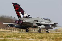 "ZA412-017/ ""Dambuster Departure!"" (PhoenixFlyer2008) Tags: scotland aircraft aviation military raf squadron 617 lossiemouth dambusters panavia royalairforce tornadogr4 neilbates wwwairteamcanoncouk"