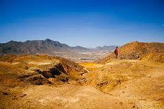 (staRdixa) Tags: blue summer sky mars orange mountains abandoned yellow azul warm murcia cielo marte montaas abandonado yellowish mazarrn minasdemazarrn