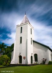 (Nick Kanta) Tags: longexposure summer sky color church architecture clouds hawaii nikon maui le hana hawaiianislands d90 outdoorphotography tamron1750 10stop