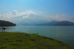 2014-08-30 08.27.13 (pang yu liu) Tags: travel day2 sun moon mountain lake landscape  biking aug  08   2014 nantou