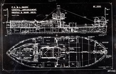 PS BL Nairn (Dundee City Archives) Tags: road old bridge car architecture boats construction ship photos dundee ships paddle drawings 1966 330 tay number newport passenger shipyard plans naval steamer ferries 1929 nairn caledon fifies psnewport psblnairn