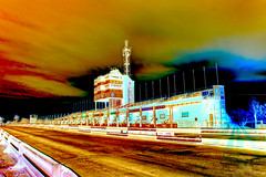 Grandstand (cabmanstu) Tags: man motorcycle tt douglas races isle hdr grandstand hss