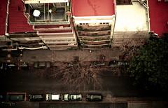 19th floor (Lady Smirnoff) Tags: street roof cars buildings calle edificios carros autos tops techos