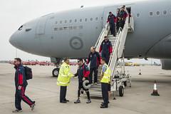 Australian Invictus Games team arrives at RAF Brize Norton (RAF Brize Norton) Tags: team aircraft australian games norton airbus arrives a330 aar tanker raf invictus brize mrtt kc30 kc30a