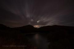 Full Moon on Green Lake (Giorgio Chessari) Tags: from santa moon lake is long exposure time away running luna gradient nikkor 06 piena fool giorgio rosalia 500px 1424mm chessari