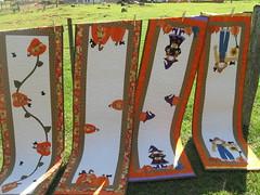 Caminhos de mesa!!!Hello Fall (Edna Melisinas) Tags: quilt patchwork aplicações trilhodemesa countryhellofall