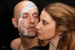 Il & elle (Keres Jasminka) Tags: woman man fetish duo mua balletboots