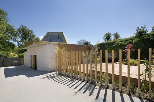 Studio Pavilion at Bellahouston Park by ZM Architecture ltd
