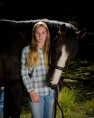 Hailey (nevadoyerupaja) Tags: ranch autumn summer portrait horse usa fall girl female model wyoming