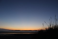 Back Strands Sunset. (mcginley2012) Tags: sunset beach grass si