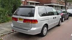Honda Odyssey 3.5 V6 (sjoerd.wijsman) Tags: auto holland cars netherlands car honda silver grey gray nederland thenetherlands delft voiture vehicle holanda autos minivan odyssey paysbas olanda fahrzeug niederlande grijs mpv zuidholland hondaodyssey zilver carspotting hcar carspot zilvergrijs sidecode6 08rftj