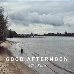 Köln taucht wieder aus den Wolken auf. | Cologne, hello again.  #kiraton #instaweather #instaweatherpro #weather #wx  #köln #deutschland #day #summer #de #holiday #hooray #hoorayfortoday #lazy #kiratontravel #travelblog #travelingram #traveltheworld #trav