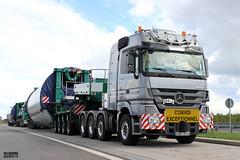 Mercedes Actros MP3 TITAN SCHWANDER (D) (magicv8m) Tags: berlin transport trans a10 lkw tir vestas schwander schwertransporte
