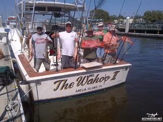 group fishing charters, Amelia Island Florida