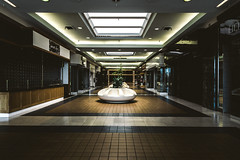 lonely carousel mall entrance (Beau R) Tags: abandoned mall san iii carousel m3 bernardino rx100