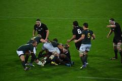 Belle action All Blacks vs Springboks