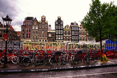 Rainy day in Amsterdam. (Smo_Q) Tags: summer netherlands amsterdam nederland paysbas niederlande オランダ 荷兰 holandia 阿姆斯特丹 アムステルダム paísesbajos 암스테르담 paesibassi 네덜란드 pentaxk5
