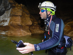 Member of video team Day 3 (europeanastronauttraining) Tags: caves esa 2014