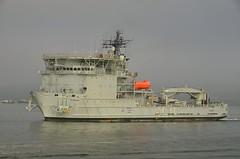 RFA DILIGENCE (Ugborough Exile) Tags: royalfleetauxiliary rfa royalnavy diligence a132 ships d7000 nikon plymouth devon england uk 2014