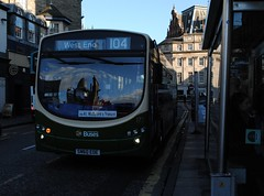 172 (Callum Colville's Lothian Buses) Tags: west bus green buses volvo edinburgh country cream end 104 lothian eclips haddington lothianbuses edinburghbus b7rle sn60eoe busesedinburgh buseslothianbuses