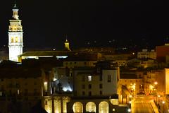 _DSC2133 (dimi0123) Tags: color noche nocturna palacio campanas campanar ontinyent palaudelavila