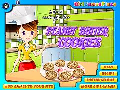 莎拉的烹飪班:花生餅乾(Sara's Cooking Class: Peanut Cookies)