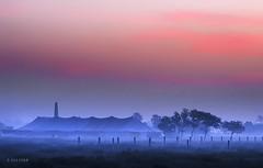 Winter morning (xeeart) Tags: winter winters morning sunrise fog mist clouds sky landscape punjab lahore pakistan xeeshan canon6d