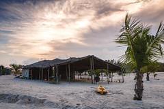 hut beach (Davyahoua) Tags: cabanon hut color beach assini assinimafia palmer fisherman sea sand sable orange canon