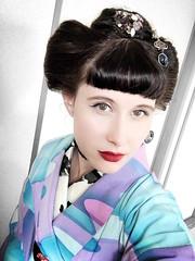 IMG_1574 (SALZ Tokyo) Tags: nihongami 日本髪 japanesehair