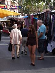 reflejos del mediterraneo (pepe amestoy) Tags: streetphotography people moros cristians elcampello spain fujifilm xe1 carl zeiss t planar 250 zm leica m mount