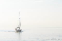 No line on the horizon (JnHkstr) Tags: ameland fotoclub gespot waddenzee zeilboot sailing quiet tranquility sea water nikon 150600