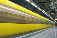 Subway Essen (O l l i . B .) Tags: subway subwaystation underground untergrund ubahn wusch essen nrw nordrheinwestfalen ruhrgebiet ruhrpott architektur canoneos5dmkii canonef1740mm longexposure langzeitbelichtung lzb