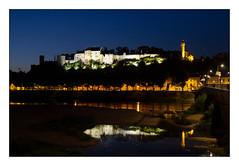 La forteresse royale de Chinon (Rmi Marchand) Tags: chinon indreetloire de loire centre val nuit forteresse royale pose longue