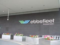 Ebbsfleet International front end sign. (DesiroDan) Tags: highspeed1 ebbsfleetinternationalstation eurostar southeasternhighspeed southeastern railwaystationsintheuk