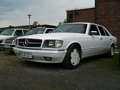 Mercedes C126 Trasco (911gt2rs) Tags: treffen meeting show event tuning umbau w126 sec sklasse weis white custom coachbuilt