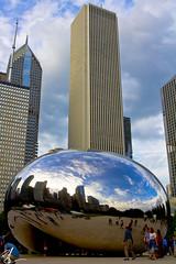 The Bean Chicago1 (Brett Landrum) Tags: chicago chi chicity chitown wrdsmth thebean bean wills tower metro photography canon7d 7d streetart street art urbanart urban city windycity